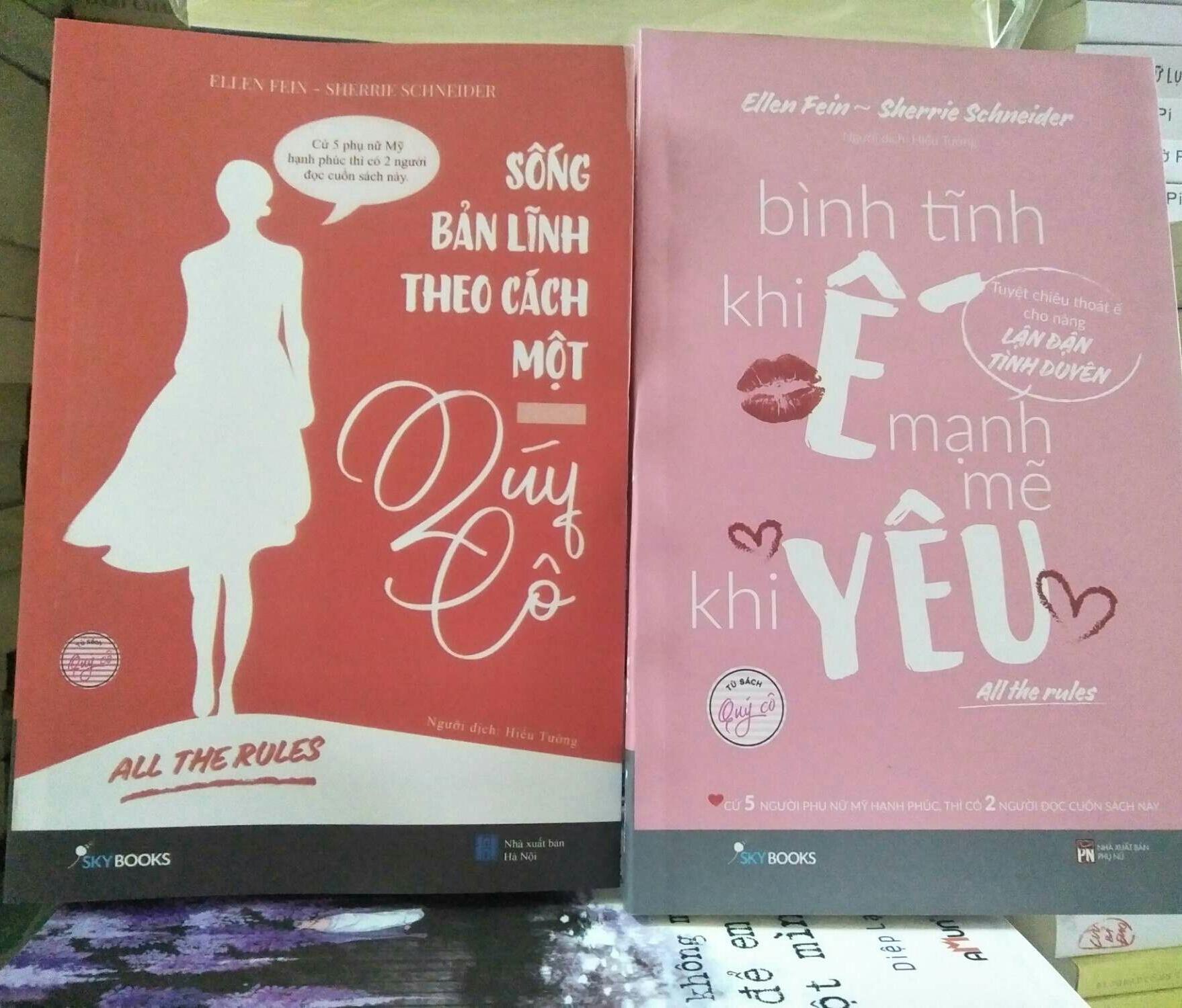 Mua Combo 2 cuốn : Sống bản lĩnh theo cách một quý cô - Bình tĩnh khi ế mạnh mẽ khi yêu