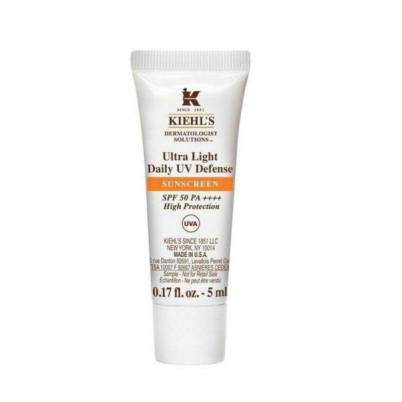 Kem chống nắng Kiehl's Ultra Light Daily UV Defense Mini 5ml