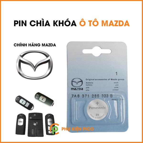 Pin chìa khóa ô tô Mazda 2, 3, 6, CX5 chính hãng Mazda