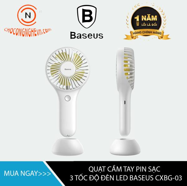 🌟CHÍNH HÃNG🌟 Quạt mini thông minh cầm tay Baseus Bingo 3 chế độ làm mát kèm chân đế để bàn - Hàng chính hãng