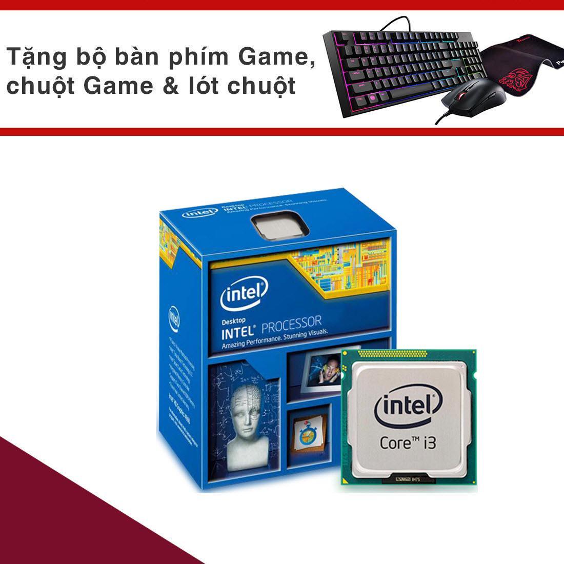 Chip Vi xử lý Intel CPU Core I3 4160 (2 lõi- 4 luồng) Bảo Hành 3 Năm- Hàng Nhập Khẩu