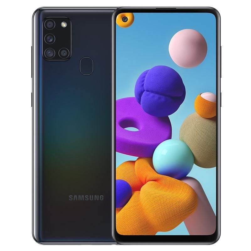 Điện thoại Samsung Galaxy A21s 3GB/32Gb Chính hãng, nguyên seal, Màn hình 6.5 inches, HD+, Camera trước 13.0 MP, Camera sau Chính 48 MP & Phụ 8 MP, 2 MP, 2 MP, Sở hữu chip Exynos 850, 8, 8 nhân 2.0 GHz, Pin 5000mAh