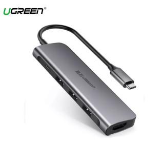 Cáp Chuyển USB Type C Sang HDMI + USB 3.0 3+PD Ugreen (50209) thumbnail