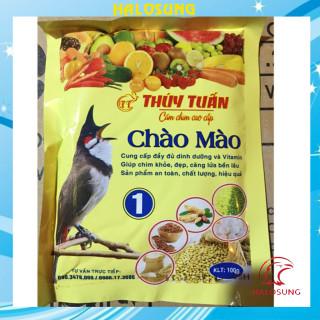 Cám chim Halosung cám chào mào Thúy Tuấn số 1 cao cấp 100gram CC27 thumbnail