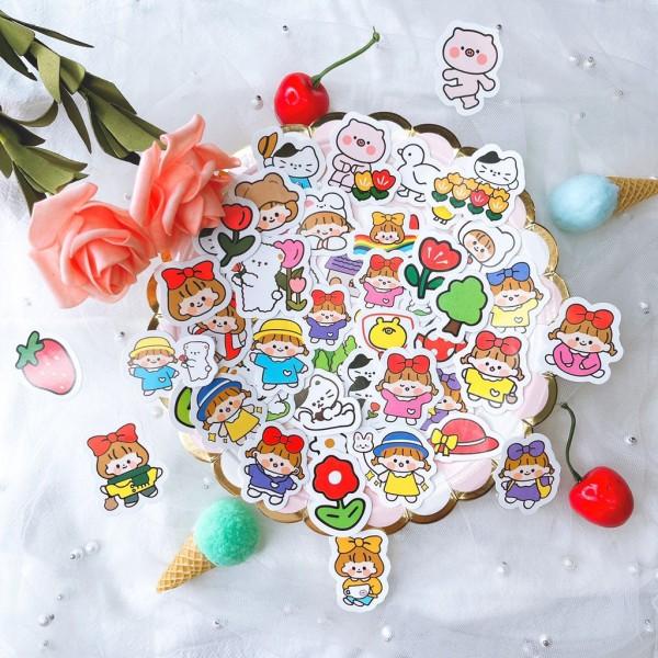 Set 50-100-150 stickers dán hình siêu siêu dễ thương - MiuSua