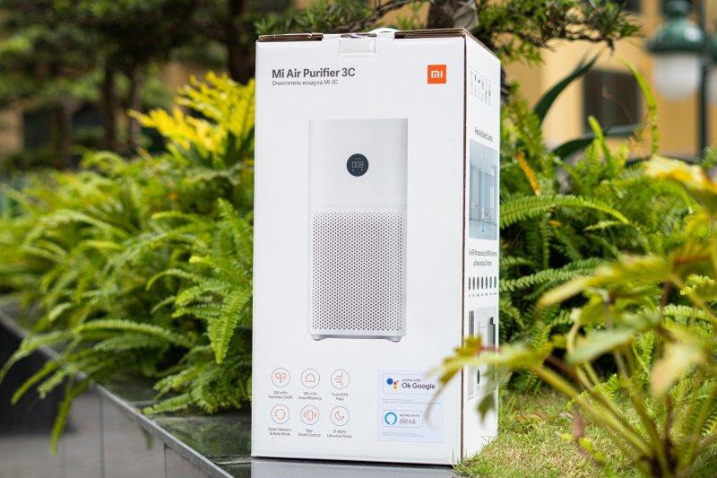Máy Lọc Không Khí Xiaomi 3C Air purifier | May loc khong khi | Lõi HEPA lọc bụi mịn PM2.5 | XIAOMI ECOSYSTEM STORE