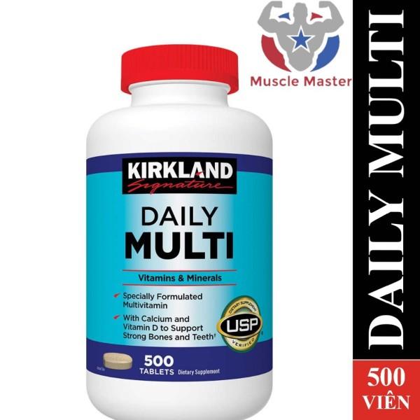 Thực Phẩm Bổ Sung Vitamin và Khoáng Chất Tổng Hợp KIRKLAND DAILY MULTI 500 Viên