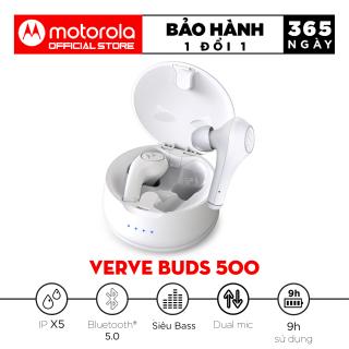 [VOUCHER 7% 800K] Tai nghe Bluetooth TWS - Motorola Vervebuds 500 - Bluetooth 5.0, Chống nước IPX5 thumbnail
