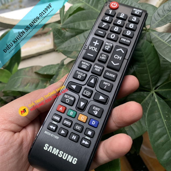 Bảng giá [Hàng Zin] Điều Khiển Tivi Samsung Smart Tivi Ngắn BN59-01199F - Remote Tivi Tương Thích Các Đời Tv LED LCD Plasma