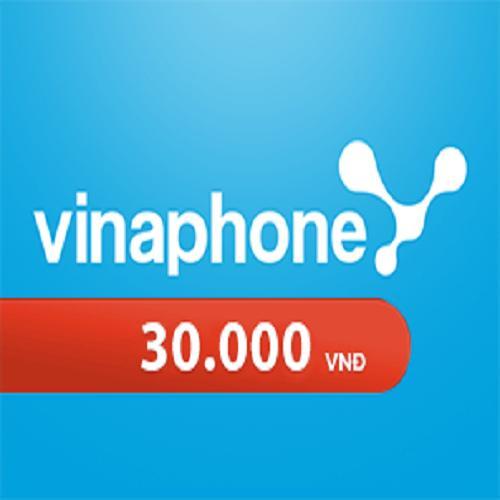 Deal tại Lazada cho Thẻ Cào Vinaphone 30.000 VNĐ