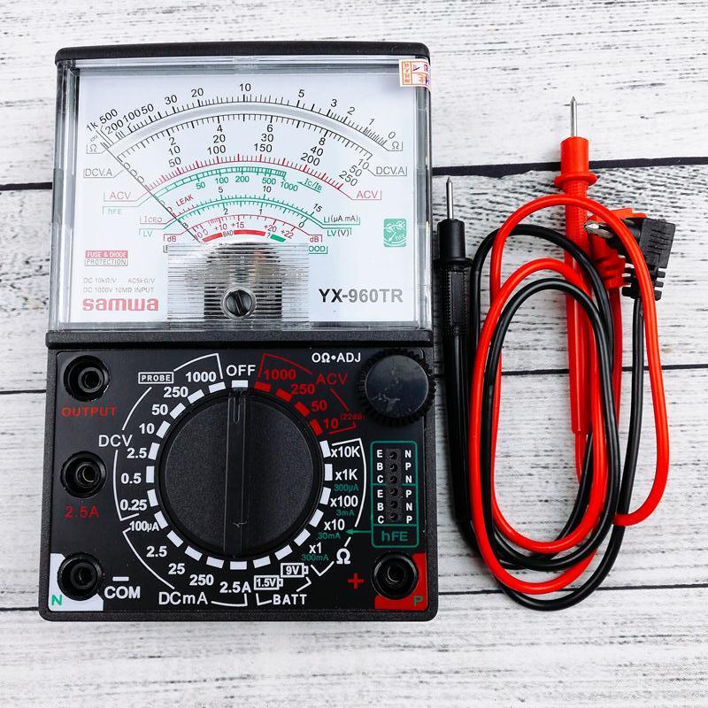 Đồng hồ đo Samwa YX-960TR loại tốt kèm pin