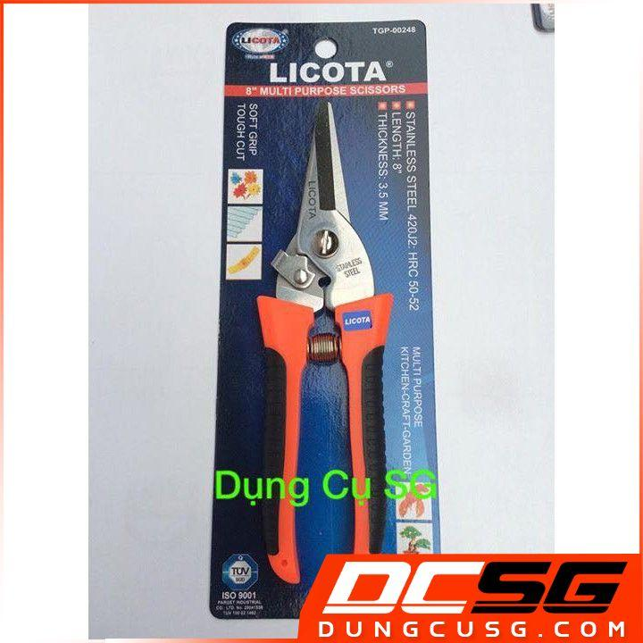 Kéo cắt cành 8 cao cấp Licota TGP-00248 [DCSG]