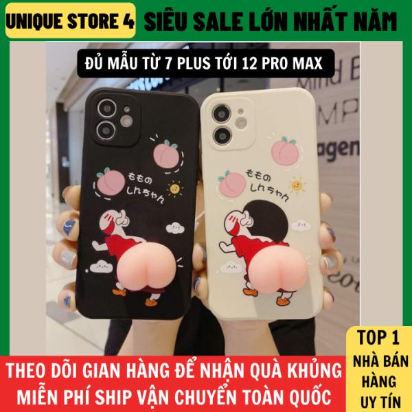 Ốp Lưng Iphone 7 Plus Tới 12 Pro Max Mẫu Shinchan Đào Bóp, ốp lưng iphone 6s plus, ốp lưng iphone 11 ốp lưng iphone 8 plus, ốp iphone ốp lưng iphone 7s plus