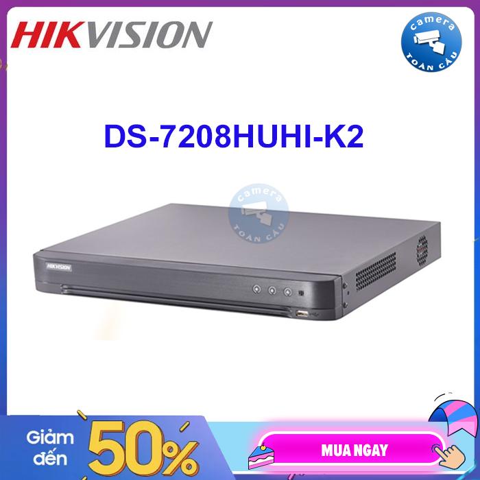 Đầu ghi hình HD TVI Hikvision 4 kênh DS-7204HQHI-K1 chuẩn H.265+