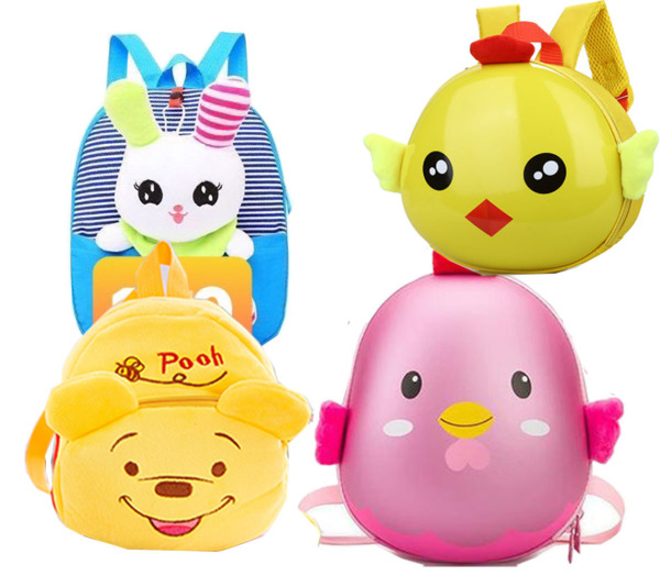 Giá bán Balo mầm non cho bé hình thú, trứng.