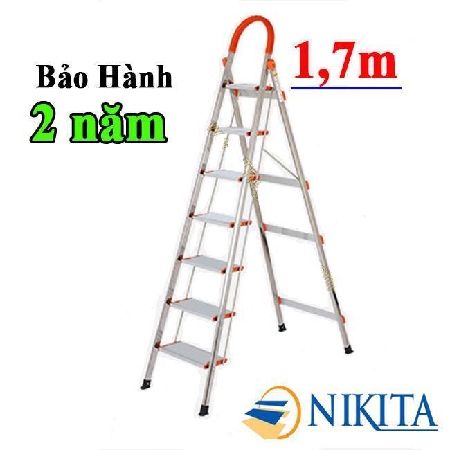 THANG GHẾ INOX 7 BẬC 1.7M NIKITA-NHẬT BẢN KN-IN07