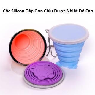 Cốc Silicon Gấp Gọn Chịu Nhiệt Độ Cao thumbnail