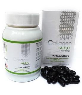 Viên Collagen +AEC Gold 12000mg Ahlozen Cao Cấp Từ Mỹ thumbnail