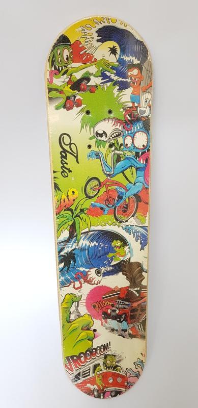 Ván trượt hình nhám Skateboard cao cấp cỡ lớn bánh cao su trong đẳng cấp