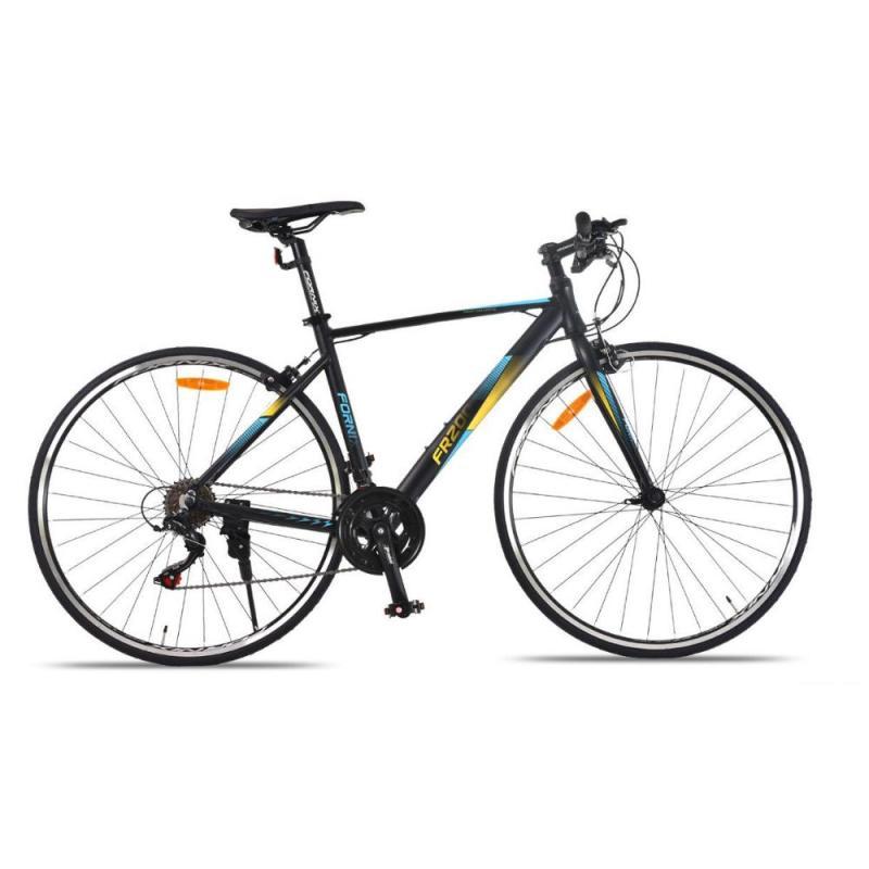 Phân phối Xe đạp đường trường đua FR200 màu bạc dương vàng