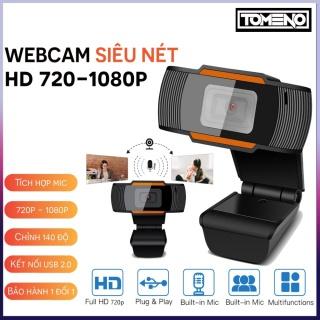 (Bảo hành 12 tháng ) Webcam HD 720P - 1080p Máy Tính Laptop Livestream, Học và Làm việc Online siêu rõ nét quay chữ rõ nét , Webcam máy tính , Webcam logitech , Webcam pc để bàn , Webcam có mic ,Web pc thumbnail