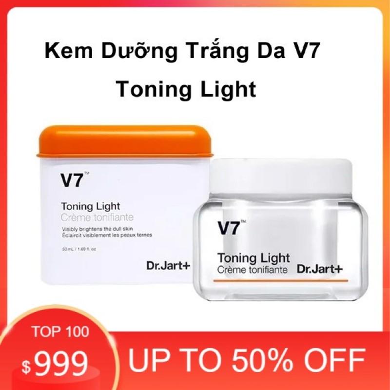[Hàng Chính Hãng]Kem Dưỡng Trắng Da V7 Toning Light Dr.Jart 50Ml - fullsize