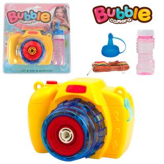Máy ảnh thổi bong bóng có nhạc và đèn siêu dễ thương cho bé 6
