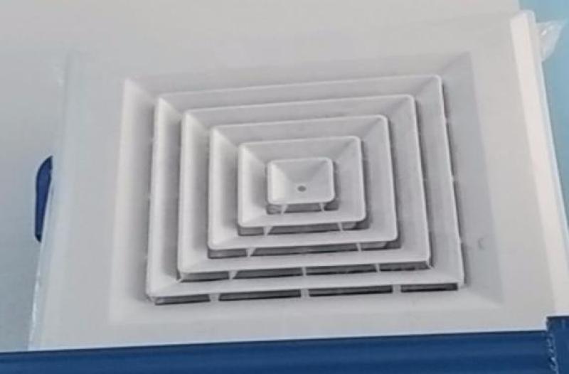 wipcool  Cửa gió khuyếch tán vuông nhựa PVC 600x600mm