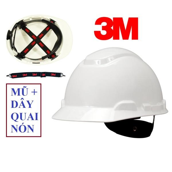 Mũ bảo hộ lao động  chính hãng 3M H701R - Nón bảo hộ nhựa HDPE siêu cứng