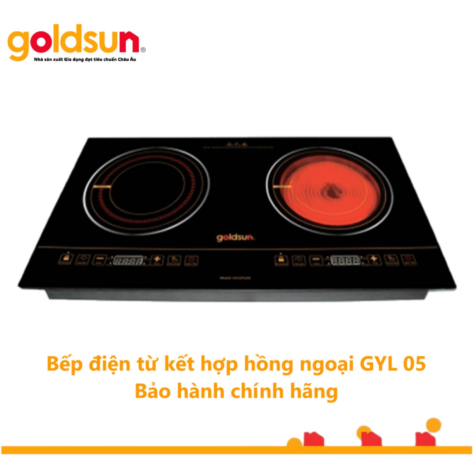 Bếp Goldsun hồng ngoại - Từ đôi CH-GYL05