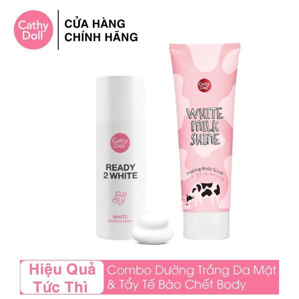 Bộ Kem Dưỡng Trắng Da Tức Thì Cathy Doll Ready 2 White White Boosting Cream 75ml tốt nhất
