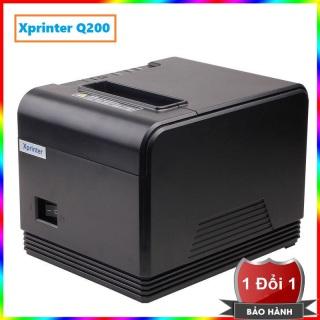 Máy in hóa đơn XPrinter XP-Q200 Cổng USB + LAN - Máy in nhiệt XPrinter Q200 - Máy in nhiệt XPrinter XP Q200 khổ in K80 In hóa đơn tính tiền cho Cửa Hàng thumbnail