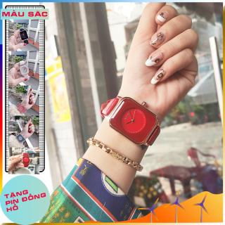 Đồng hồ nữ dây da GUOU A45 TREND 2020 đồng hồ kim thời trang cho phái đẹp thumbnail