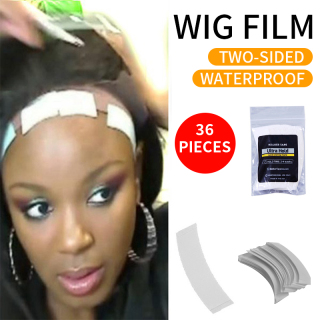 36 Pc Lot Strong Super Fixed Hair System Adhesive Tape Super Strong Adhesive Tape Extended Lace Wig Waterproof and Sweat Wig Film On Sale keo dán tóc giả băng keo dán tóc giả keo dán tóc thumbnail