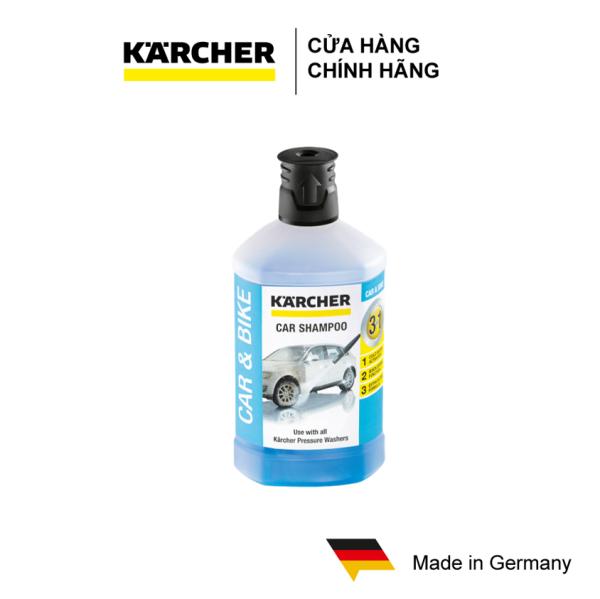 Chất tẩy rửa xe Karcher 3 trong 1 (1 lít)