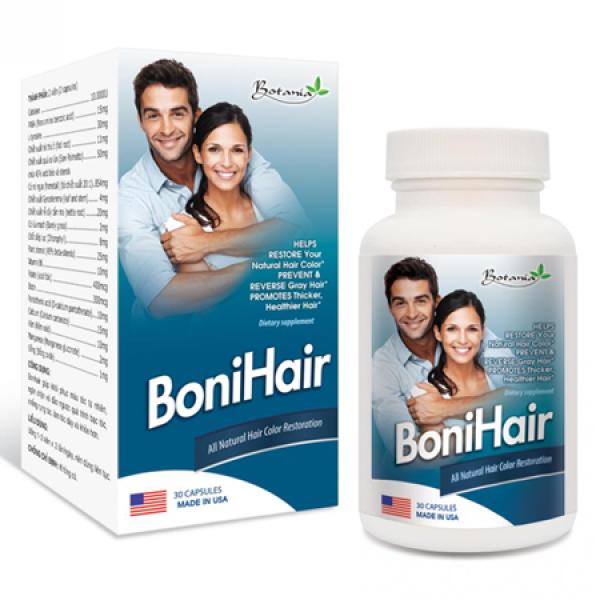 (Hộp 30 viên) Hỗ trợ giúp làm giảm rụng tóc, khô tóc, gãy rụng tóc BONIHAIR giá rẻ
