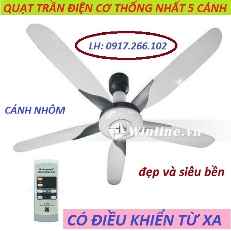 quạt trần điện cơ có điều khiển siêu bền - 0917.266.102