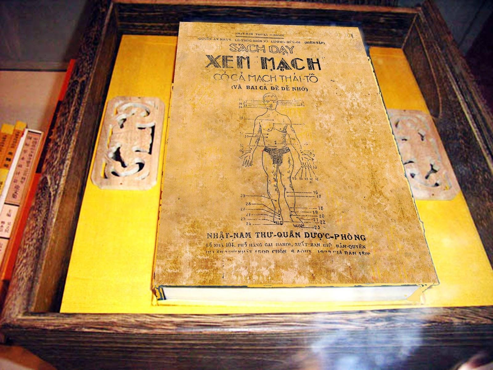 Mua Sách Dạy Xem Mạch Có Cả Mạch Thái Tố - Nguyễn An Nhân