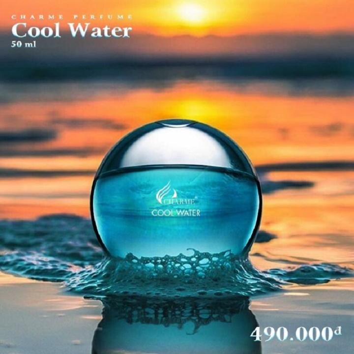 Nước hoa nam Cool Water (50ml) - THƠM MÁT, SẢNG KHOÁI ĐẦY NAM TÍNH nhập khẩu