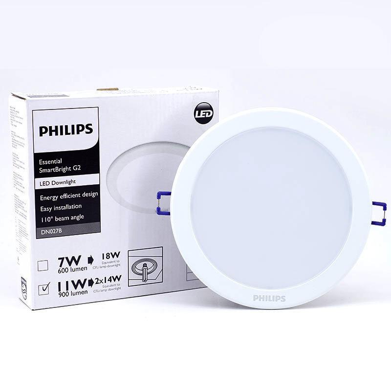 Đèn Led âm trần tròn 7W Philips DN027B G2 LED6 D90