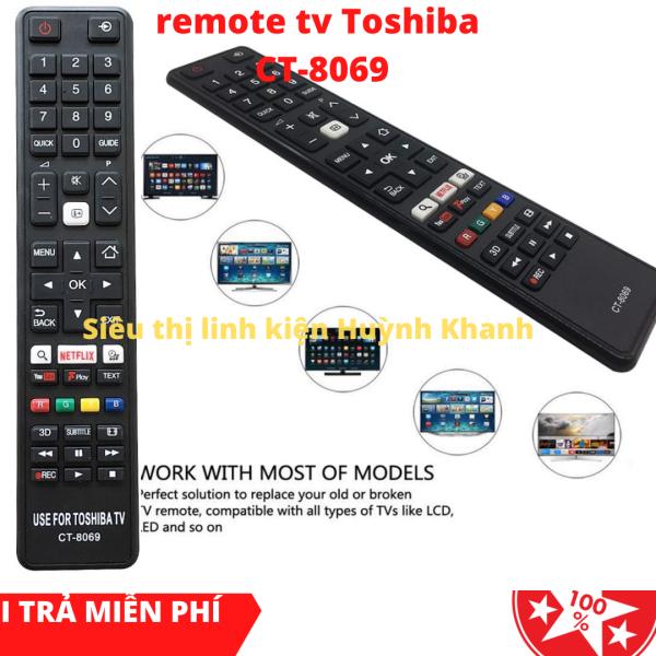 Bảng giá REMOTE TV TOSHIBA CT-8069 CHÍNH HÃNG