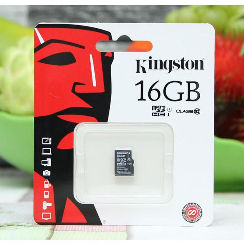 Thẻ Nhớ Micro SD Kingston 16Gb Class10 - Bảo Hành FPT