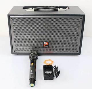 [HCM]Loa kéo xách tay Prosing W-Silver E Loa karaoke thùng gỗ cao cấp - Hàng chính hãng thumbnail