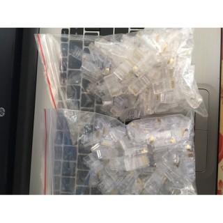 100 Hạt Mạng RJ45 hạt Mạng Nhựa RJ45 thumbnail