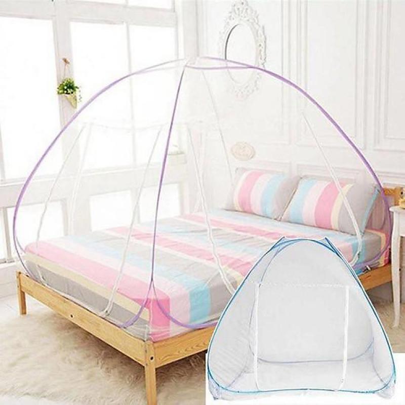 [M] Mùng Bung 1m5 x 2m – Mùng Chụp Che Muỗi Tự Bung – Mùng Bung Tự Chụp -  Mùng – Mùng Cho Nôi – Mùng Chụp Xếp Gọn – Mùng Tự Bung – mùng xếp gọn – đồ dùng phòng ngủ - phụ kiện giường ngủ