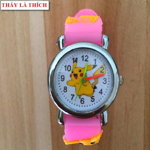 Đồng hồ bé gái Thấy Là Thích họa tiết 3d Pokemon - DH2019100012020039