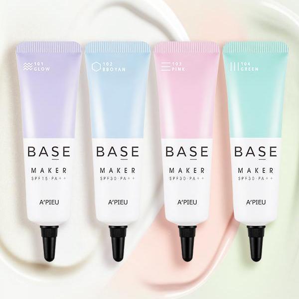 Kem Lót Hàn Quốc Trang Điểm Kiêu Sa A'pieu Base Maker 20ml giá rẻ