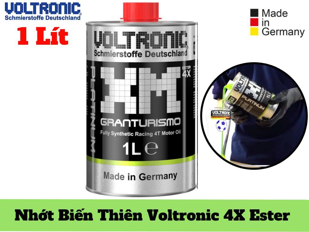 Dầu Nhớt Voltronic XM PLATINUM Granturismo 4X Ester