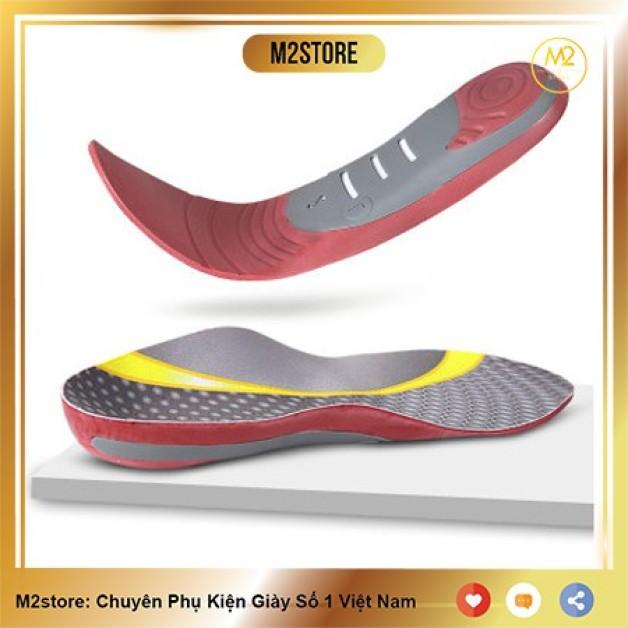 Lót giày chỉnh hình cao cấp hỗ trợ chuyển động hấp thụ lực cho người bàn chân bẹt - chân XO LGCH19 giá rẻ