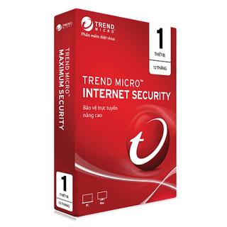 Phần Mềm Diệt Virus Trend Micro Internet Security 1 PC 1 Năm thumbnail